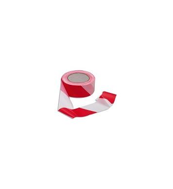 Rubalise signalisation rouge et blanc