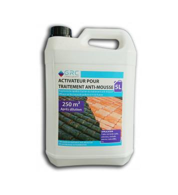 Activateur pour traitement anti-mousse
