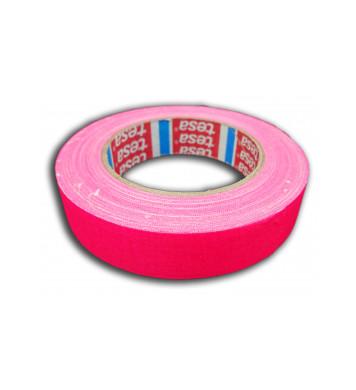 Adhésif de marquage rose fluo