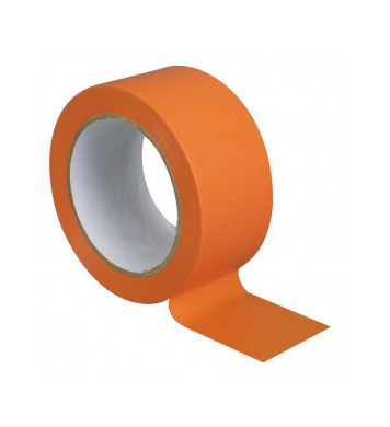 Adhésif PVC orange Large