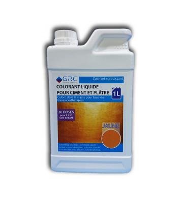 Colorant JAUNE liquide 1L