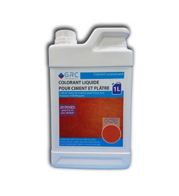 Colorant OCRE liquide 1L