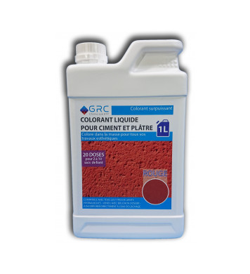 Colorant ROUGE liquide 1L