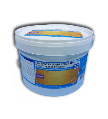 Colorant JAUNE en poudre 2kg