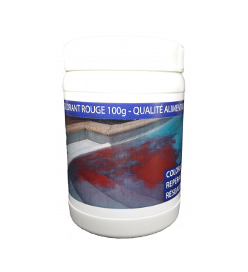 Colorant de repérage ROUGE, 100 g