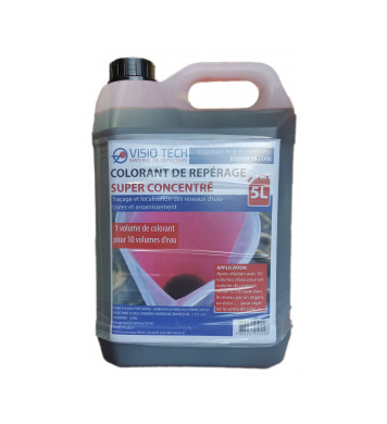 Colorant de Repérage super concentré rose fluo (5L)