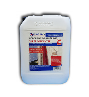 Colorant de repérage ROUGE 10L