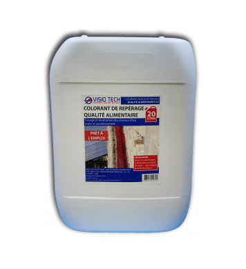 Colorant de repérage ROUGE 20L