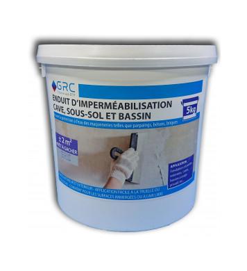 Enduit d'imperméabilisation GRIS 5kg