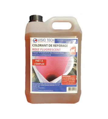 COLORANT DE REPÉRAGE (5L) rose fluo