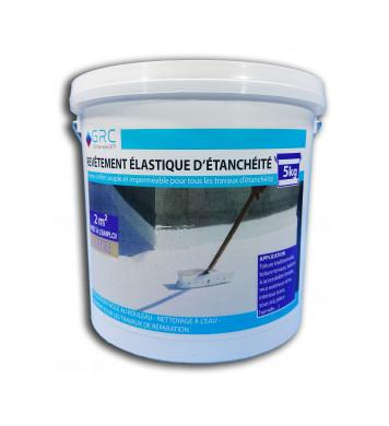 Revêtement élastique d'étanchéité BEIGE 5 kg