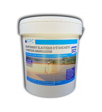 Revêtement élastique d'étanchéité granuleux BEIGE 25 kg