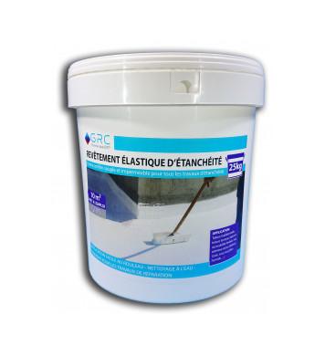 Revêtement élastique d'étanchéité GRIS 25 kg
