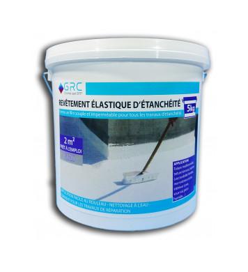 Revêtement élastique d'étanchéité GRIS 5 kg