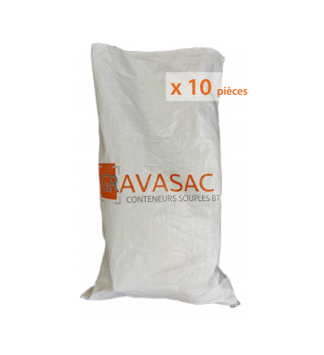 Sac de chantier 65 L,  Lot de 10